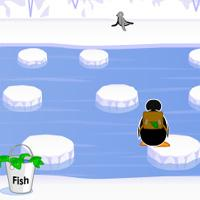 Pingu Fish Run game
