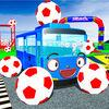 play Baby Superheroes Soccer Color Car Parking