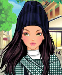 Shawl Loving Dress Up Game game