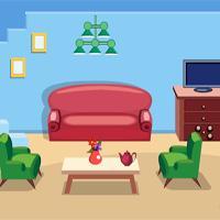 Pleasant Blue House Escape Games4Escape game