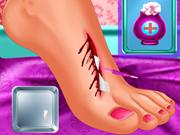 Moana Foot Surgery game