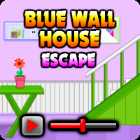play Blue Wall House Escape Walkthrough