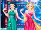 Princesses Royal Ball Dress Up game