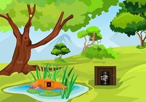 Sheep Garden Escape game