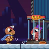 Dinosaur Save Princess game