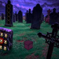 Fantasy Graveyard Escape game