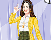 Glee Dress Up game