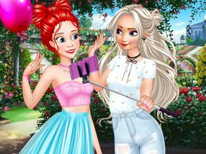 Princesses Bff'S Weekend Selfie game