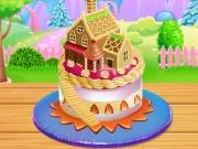 Doll House Cake Cooking game