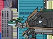 play Dino Robot Proganochelys