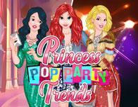 Princesses Pop Party Trends game