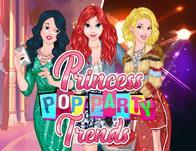 Princesses Pop Party Trends game