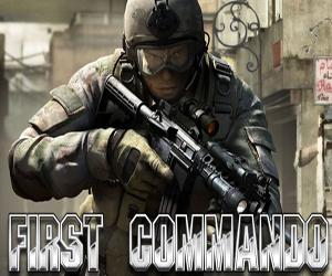 First Commando game