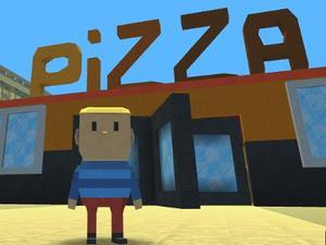 Kogama: Work At A Pizza Place game