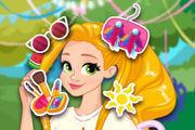 Rapunzel Sweet Summer Party Girl game
