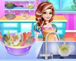 play Princess House Hold Chores