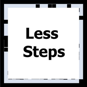 play Less Steps