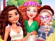 Princesses Summer Glamping Trip game