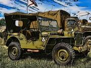 Military Jeep Puzzle game