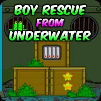 Boy Rescue From Underwater Escape game