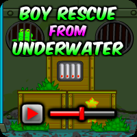 play Boy Rescue From Underwater Walkthrough