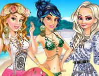 Princesses Boho Beachwear Obsession game