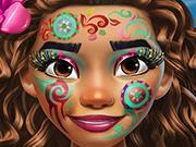 Exotic Princess Makeup game