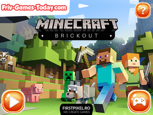 Minecraft Brickout game