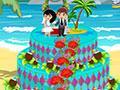 Hawaiian Summer Wedding Cake game