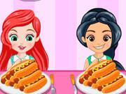 Princess Hotdog Eating Contest game
