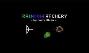 Rainbow Archery game
