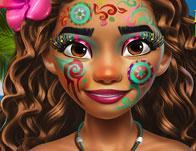 play Exotic Princess Makeup
