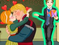 play Ice Princess School Kiss