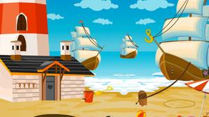 play Caribbean Pirate Girl Rescue Escape