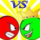 play Red Ball Vs Green King