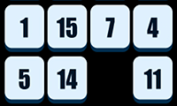 play Numbers Sliding Puzzle