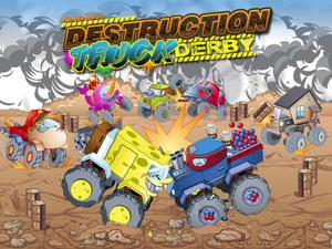 Nickelodeon: Destruction Truck Derby Action game