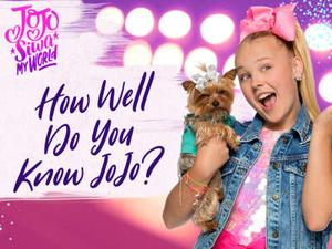Jojo Siwa: My World: How Well Do You Know Jojo? Quiz game