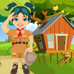 play Scout Girl Rescue Escape
