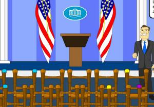Hooda Escape White House game