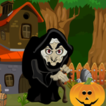 play Witch Rescue From The Old House