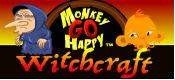 Monkey Go Happy Witchcraft game