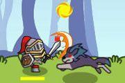 Guardian Saga: The Dark Forest game