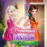 play Princesses Fashion Over Coffee