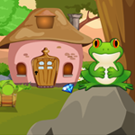 play Frog Rescue From The Rock