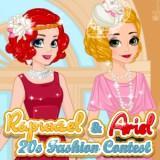 play Rapunzel & Ariel 20S Fashion Contest