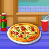 play Cooking Tasty Pizza Glossyplay
