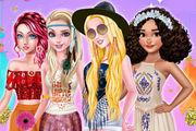 Princesses Flower Power Girl game