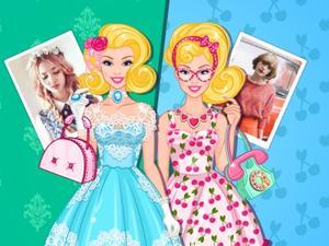 Barbie Vintage Vs Retro game