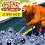play Grizzy & The Lemmings Chasing Lemmings